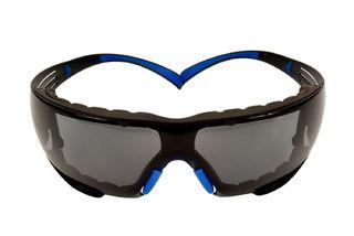 SecureFit™ SF402SGAF-BLU-F, Blue/Gray, Gray Scotchgard™ Anti-fog lens, Foam Gasket, 20ea/cs