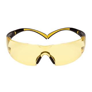 SecureFit™ SF403SGAF-YEL, Yellow/Black, Amber Scotchgard™ Anti-fog lens, 20ea/cs
