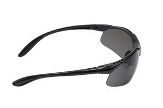 Virtua™ Protective Eyewear V6X, V6X02HC, Gray Hard Coat Lens, Black Frame  20 ea/case