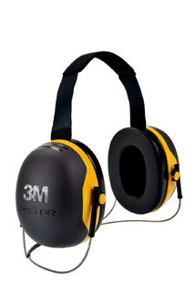 3M X2B PELTOR™ X2B Behind-the-Head Earmuffs, 10 EA/CS