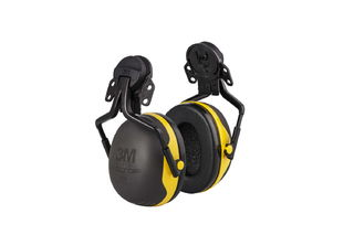 PELTOR™ Hard Hat Attached Electrically Insulated Earmuffs, X2P5E, 10 EA/CS