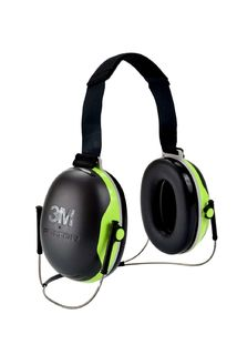 PELTOR™ X4B Behind-the-Head Earmuffs, 10 EA/CS