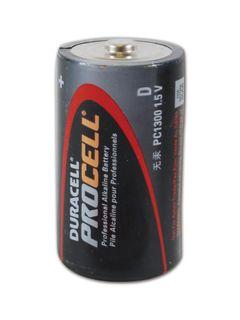 ALLIANCE DURPC1300 Duracell PROCELL Professional Alkaline Batteries - Size D