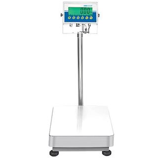 "Adam Equipment AGF 1320aD Industrial Floor Scale, 1320lb/600kg x 0.05lb/0.02kg, 23.6""x31.5&quot"