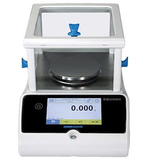 Adam Equipment EAB 514i Equinox Analytical Balance, 510g x 0.0001g, Internal Calibration