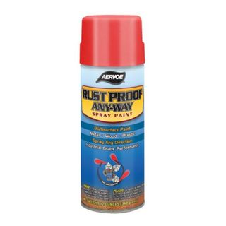 Aervoe 304 16 OZ RUST PROOF PAINT SAFETY GREEN (12 OZ FILL)