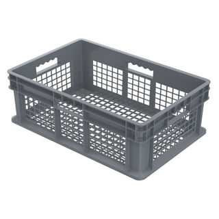 Akro-Mils 37608GREY CONTAINER SW ALL MESH 23-3/4LX15-3/4W G