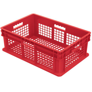 Akro-Mils 37608RED CONTAINER SW ALL MESH 23-3/4LX15-3/4W R