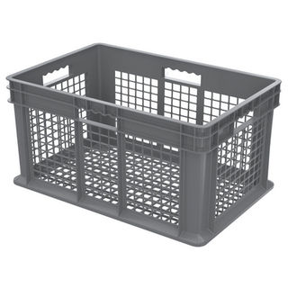 Akro-Mils 37612GREY CONTAINER SW ALL MESH 23-3/4X15-3/4 GRY