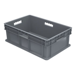 Akro-Mils 37688GREY CONTAINER SW ALL SOLID 23-3/4X15-3/4 GRY