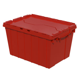 Akro-Mils 39120RED CONTAINER ATTACHED LID 12 GAL RED