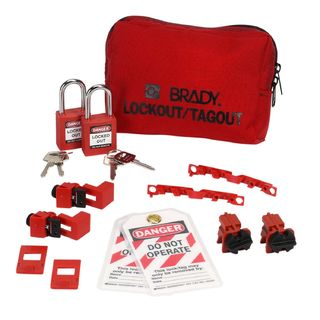 BRADY 99302 120/277V Breaker Lockout Pouch