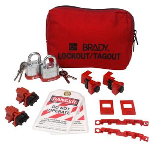 BRADY 99303 120/277V Breaker Lockout Pouch