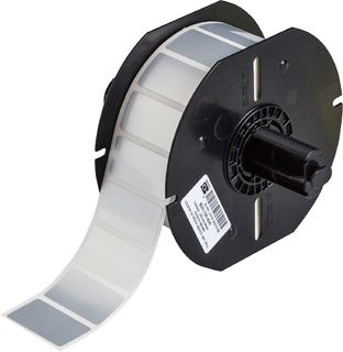 BRADY B33-136-434 B33 Series Glossy Metallized Polyester with 2 mil Adhesive Labels, B434,SILVER,1.5