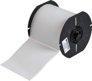 BRADY B33-161-486 B33 Series Metallized Polyester with Permanent Rubber-based Adhesive Labels