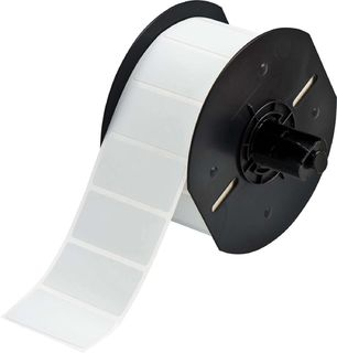 BRADY B33-17-428 B33 Series Metallized Polyester with Permanent Acrylic Adhesive Labels