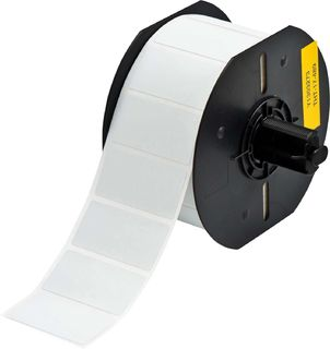 BRADY B33-17-486 B33 Series Metallized Polyester with Permanent Rubber-based Adhesive Labels