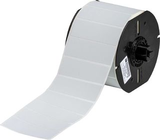 BRADY B33-18-435 B33 Series Glossy Metallized Polyester with .7 mil Adhesive Labels