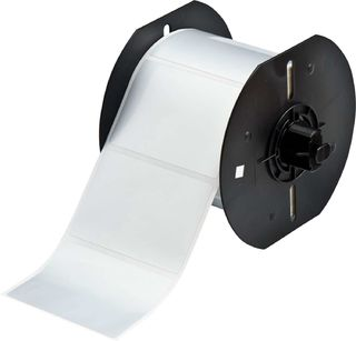 BRADY B33-19-434 B33 Series Glossy Metallized Polyester with 2 mil Adhesive Labels