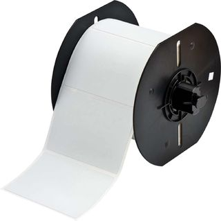 BRADY B33-19-486 B33 Series Metallized Polyester with Permanent Rubber-based Adhesive Labels