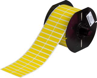BRADY B33-29-437YL B33 Series Polyvinylflouride with Permanent Adhesive Wire Marking Labels