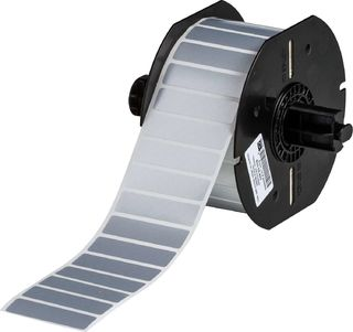 BRADY B33-53-428 B33 Series Metallized Polyester with Permanent Acrylic Adhesive Labels