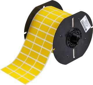 BRADY B33-5-437YL B33 Series Polyvinylflouride with Permanent Adhesive Wire Marking Labels