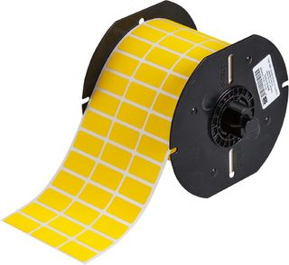 BRADY B33-5-472YL B33 Series Matte Top-coated Polyimide Wire Marking Labels