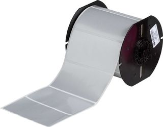 BRADY B33-55-434 B33 Series Glossy Metallized Polyester with 2 mil Adhesive Labels