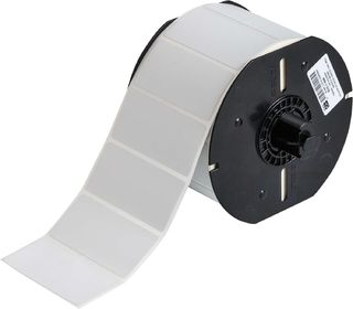 BRADY B33-7-486 B33 Series Metallized Polyester with Permanent Rubber-based Adhesive Labels