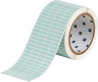 BRADY THT-14-776-10 UltraTemp Series Thermal Transfer Printer Label: Polyimide, Light Green, 0.2 in