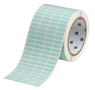 BRADY THT-1-776-10 UltraTemp Series Thermal Transfer Printer Label: Polyimide, Light Green, 0.25 in