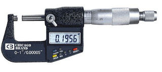 CHICAGO BRAND CP 50059 ELECTRONIC DIGITAL MICROMETER