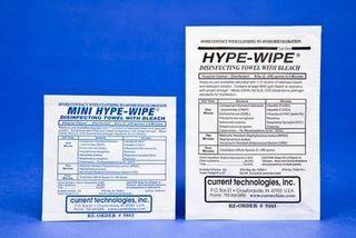 CURRENT TECHNOLOGIES INC. 9103 WIPE BLEACH TOWEL 6X12 CS100
