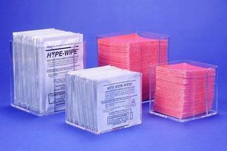CURRENT TECHNOLOGIES INC. AC9512 HOLDER ACRYL HYPWIPES F/4X4