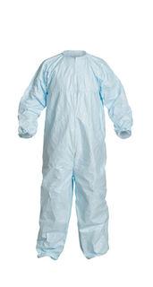 DuPont CC252BBU3X00250S DuPont™ Tyvek® Micro-Clean® 2-1-2. Coverall. Bound seams. Boun