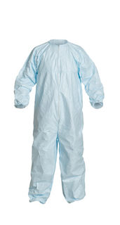 DuPont CC252BBUXL0025PI DuPont™ Tyvek® Micro-Clean® 2-1-2. Coverall. Bound seams. Boun