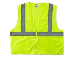 Class 2 Economy Vest Lime 2X/3X