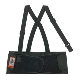 Ergodyne 11091 1650 XS Black Economy Elastic Back Support