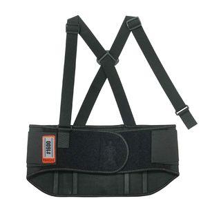 Ergodyne 11108 1600 4XL Black Standard Elastic Back Support