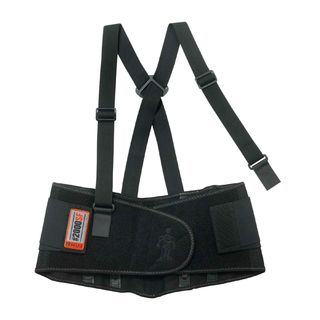 Ergodyne 11281 2000SF XS Black High-Performance Back Support