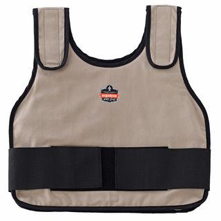 Ergodyne 12002 6235 S/M Khaki Phase Change Standard Cooling Vest