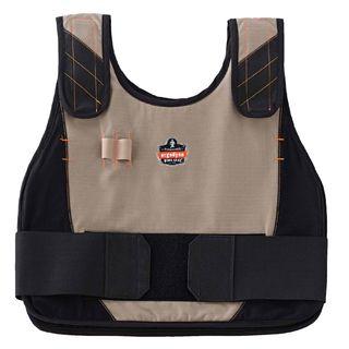 Ergodyne 12200 6215 S/M Khaki Phase Change Cooling Vest & Pack