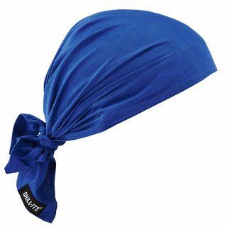 Ergodyne 12327 6710  Solid Blue Evaporative Cooling Triangle Hat