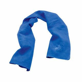 Ergodyne 12410 6602-BULK  Blue Evaporative Cooling Towel - 50 Pack