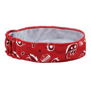 Ergodyne 12423 6605  Red Western High-Performance Headband