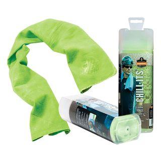 Ergodyne 12439 6602  Hi-Vis Lime Evaporative Cooling Towel
