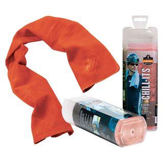 Ergodyne 12441 6602  Orange Evaporative Cooling Towel