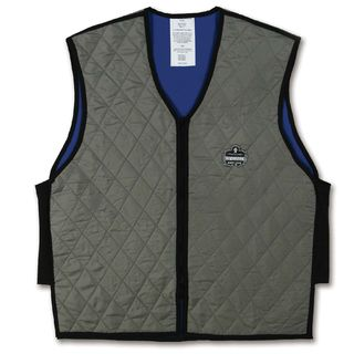 Ergodyne 12547 6665 3XL Gray Evaporative Cooling Vest