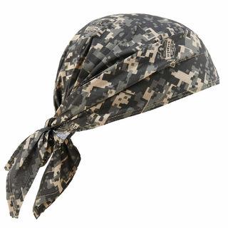 Ergodyne 12582 6710CT  Camo Evap. Cooling Triangle Hat w/CT